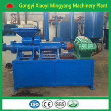 China manufacturer round coal briquette machine/dust extruding plant/charcoal stick making machinery for sale 0086-13838391770