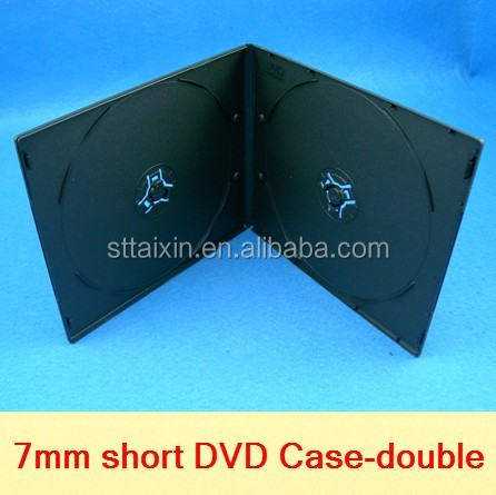 7mm slim single/double dvd/cd case alibaba china