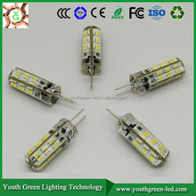 3 Years quality warranty SMD3014 1.5W G4 LED Bulb AC/DC12V LED gy 6.35 led light g4