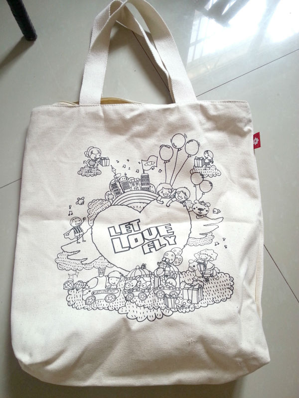 China factory customized promotional tote bag cotton