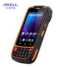 IP65 waterproof rugged smartphone 2 sim card slot dual band lf rfid buit-in nfc cell phone