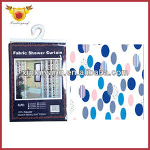 Color Circle Design Bathroom Shower Domestications Curtains