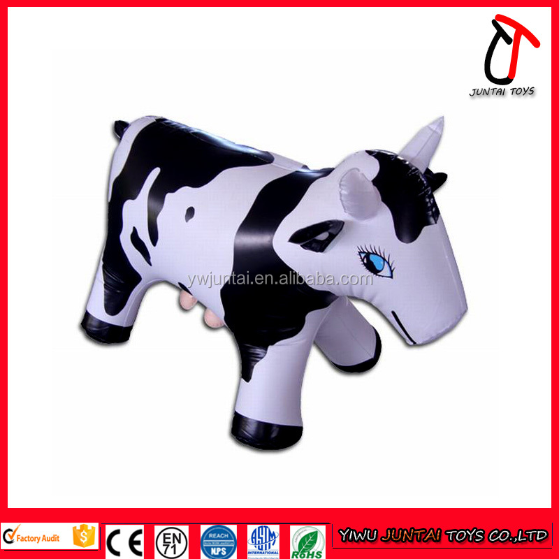 Hot sale high quality custom giant inflatable cow,inflatable milk cow,inflatable cow for kids