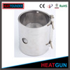 CE CERTIFICATION HIGH TEMPERATURE HOT SALE CUSTOMIZED HIGH WATT STAINLESS STEEL CERAMIC BAND HEATER AIR HEATER