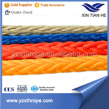 UHMWPE Rope Synthetic Tugboat Rope Made in China