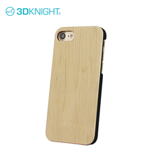 Top Quality Natural Maple wood cover for apple iphone 7 skin case and protector