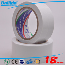 china wholesale white colors durable dumping foam tape buffer self adhesive double side tape