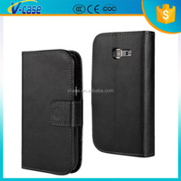 VCASE New Credit Card Slots Wallet Case pu Leather Flip Cover For Samsung Wave 3 S8600