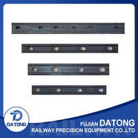 fishplate used for steel rail track joint