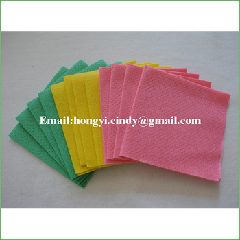 Water and oil absorbent germany nonwoven kitchen wipes