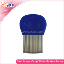Lice Comb, Steel Tooth Material nit lice comb stainless steel needle pet flea