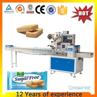 Fruit wafer bar Horizontal Biscuits packing machine KT-250