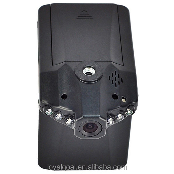 Cheapest 720 HD Car Dvr 6PCS IR Night Vision H198 car dash camera recorder