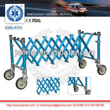 EMS-A701 Aluminum Alloy coffin church trolley
