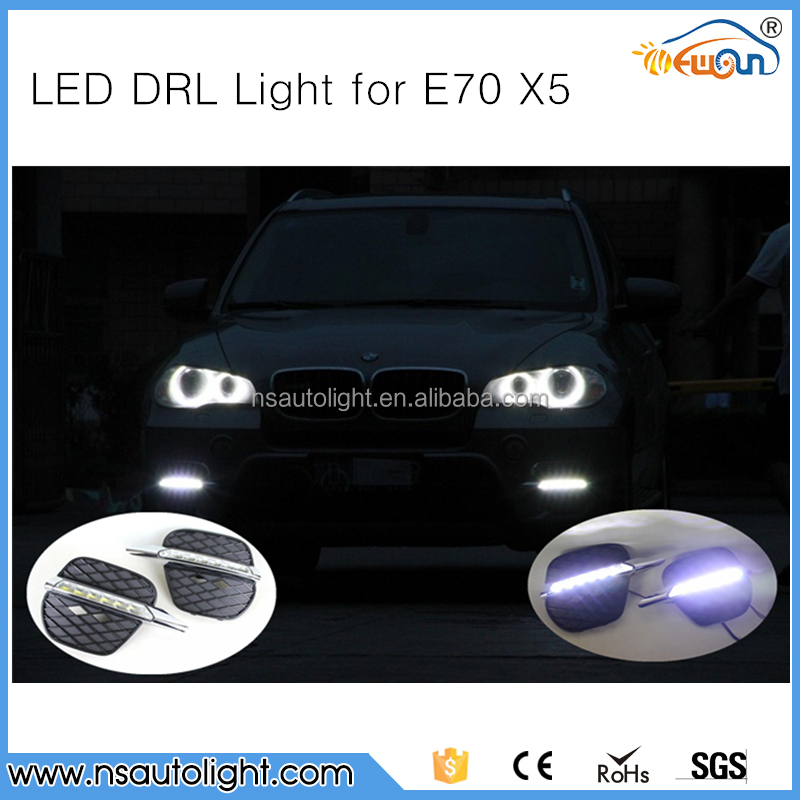 Hot Sale!!! Factory supply DRL LED daytime running light for BMW E70 /Cheaper Car accessories