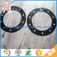 Injection molding durable wear-resisting round silicone rubber gaskets