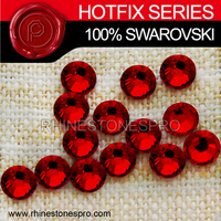 Swarovski Elements For Women Siam (208) 20ss Crystal Iron On Hotfix