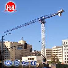 HSH China tower crane with unidrive control techniques QTP7022-12T tower crane