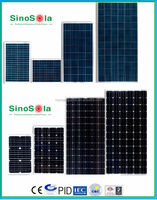 High Efficiency Mono/Poly Solar Panel With Price List from 3W to 360W