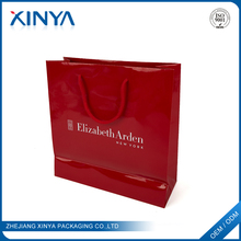 XINYA Promotional Custom Eco Friendly Paper Shopping Tote Bags With Custom Printed Logo