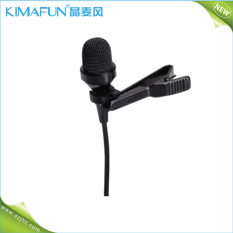 High Quality Tie Clip Microphone For Speech And Church By Pa Speaker Or Mixer