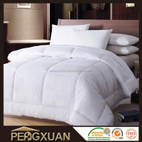 Duck down filling pure white quilt