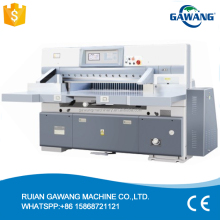 Microcomputer Single Hydraulic Double Guide Paper Guillotine/Paper Cutting Machine/Paper Cutter