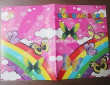2018 best designs good quality childre's color printing my hot books a4 size