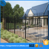 Iron Picket Fence System Steel Metal Welded Type Temporary Picket Fence