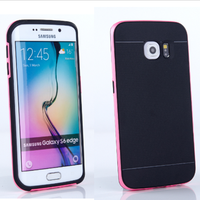 for samsung cases grand prime 2 in 1 pc & tpu for samsung s6 edge with free screen protector