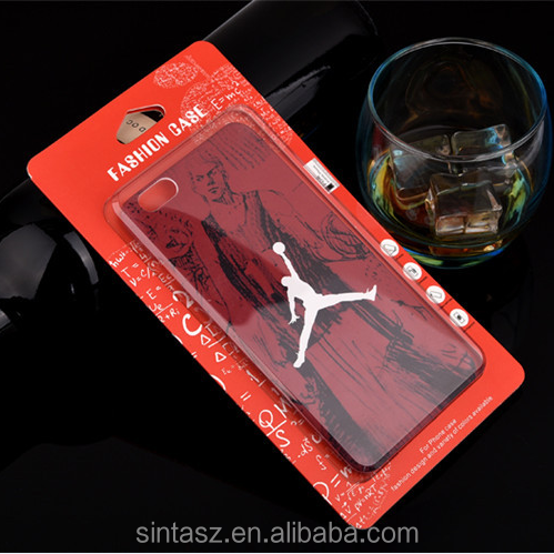 Hot selling transparent plastic mobile cell phone case packaging box