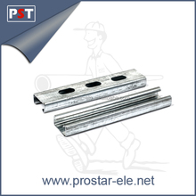 Steel Perforated/Slotted Pre-Galvanized/HDG Strut C Channel