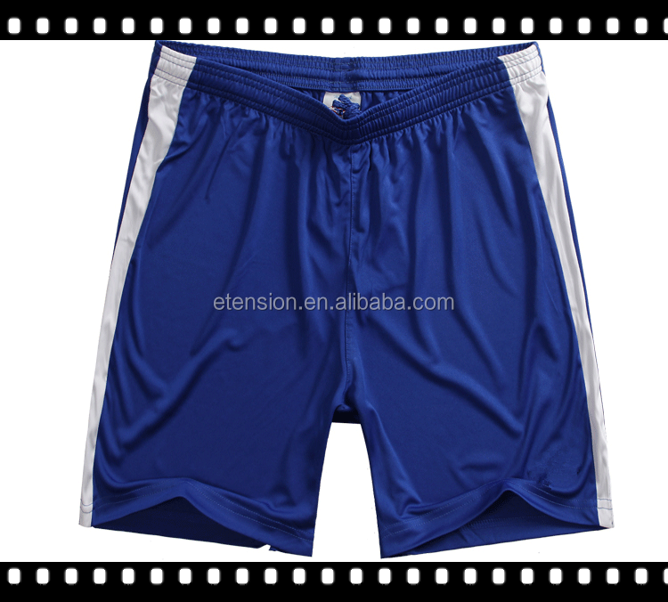 100% Polyester Slim Blue Track Pants Mens Swim Shorts