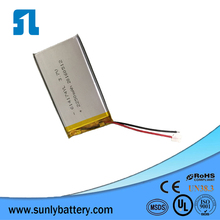 3.7v polymer battery,2250mah lipo battery pack