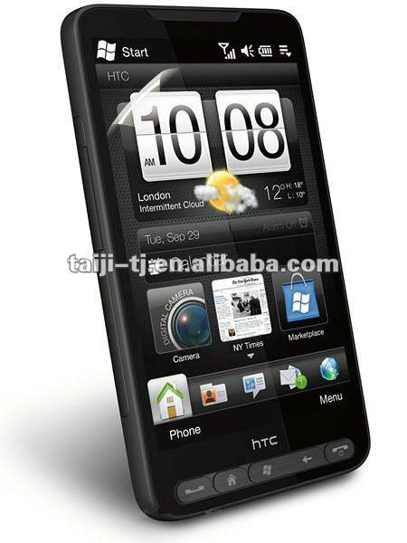 Specially designed screen protectors for htc-hd2, professional manufacturing technology, skilled staff,free sample
