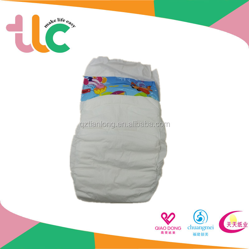 Low price OEM brands of disposable cheap baby cloth diaper