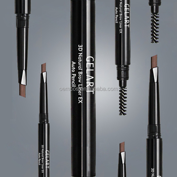 4 colors korea eyebrow pencil for cosmetic art