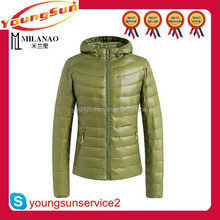 European style cheap women winter down jackets with hooded L/XL/2XL