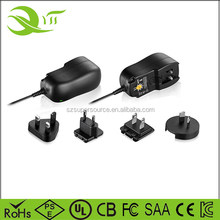 HOME AC/DC Adapter 3-12V 1A Adjustable Power Supply Motor Speed Controller for LCD LED Camaras Routers etc.