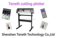 Teneth Cutting Plotter with red dot position ,contour cutting