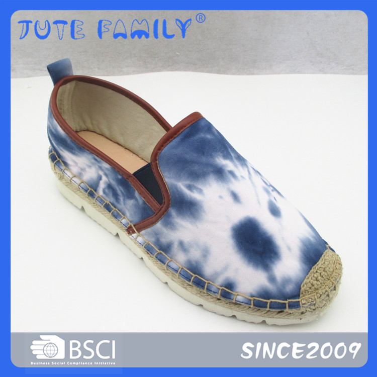 Mediocre Lady Flat Espadrille Shoes High Top From China Woman Casual Shoe