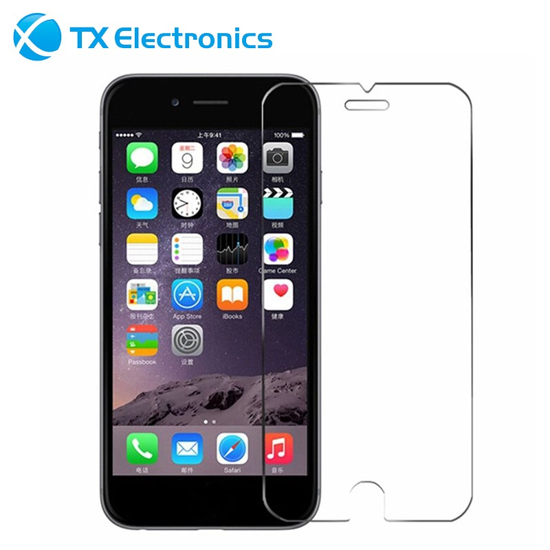 4 smartphone anti shock privacy/mirror 3d curve full cover tempered glalss logo tempered glass screen protector for iphone 6