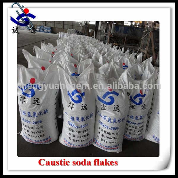 China manufacturer price caustic soda flakes 99% for detergent