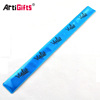 pvc reflective slap band wristband