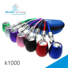 New style high quality vapor pipes e-cig Kamry K1000 electronic cigarette k1000 steel pipe