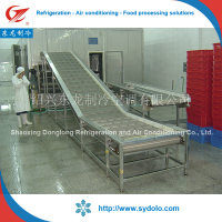 Chicken feet processing machine /IQF freezing chicken feet/freeze chicken feet machine