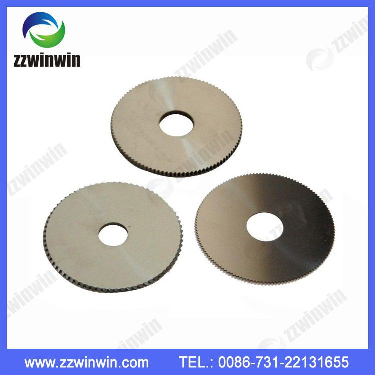 Various kinds of Cemented carbide serrated Slitting Saw Disc Cutter