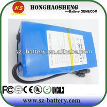 Top sale rechargeable li-ion battery 12v 40ah lithium battery pack with PCM and wire