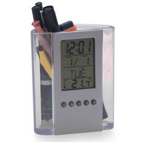 Calendar Digital Clock with Holder, Electrical Office Table Gift