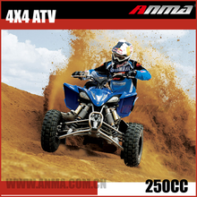 4 wheeler Stroke Air Cooled Mini Quad 4x4 ATV 49CC 110CC 150CC 250CC